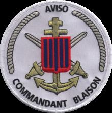 * COMMANDANT BLAISON (1982/....) * Insign11