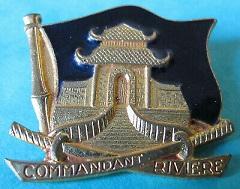 * COMMANDANT RIVIÈRE (1962/1992) * Insign18
