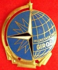 * INGÉNIEUR EN CHEF GIROD (1948/1955) * Insign40