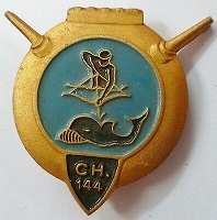 * CHASSEUR CH 144 (1944/1958) * Insign48
