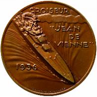 * JEAN DE VIENNE (1937/1942) * Medail12