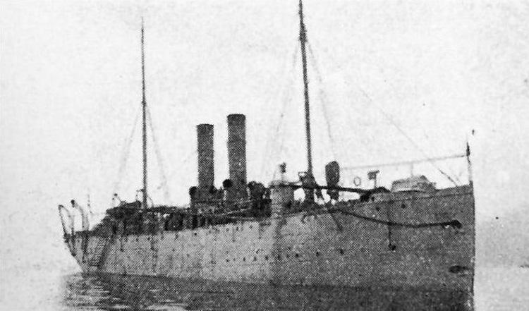 * KANARIS (1916/1917) * Mouill10