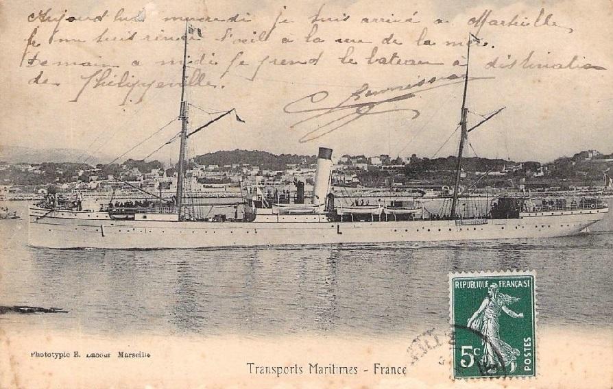 * STAMBOUL (1895/1896 et 1917/1919) * Navire18