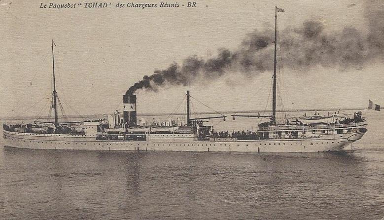 * TCHAD (1914/1917) * Navire19
