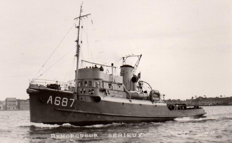 * SERIEUX (1948/1962) * Remorq16