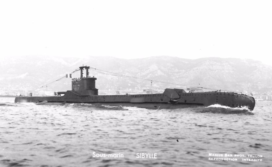 * SIBYLLE (1952/1952) * Sous-m16