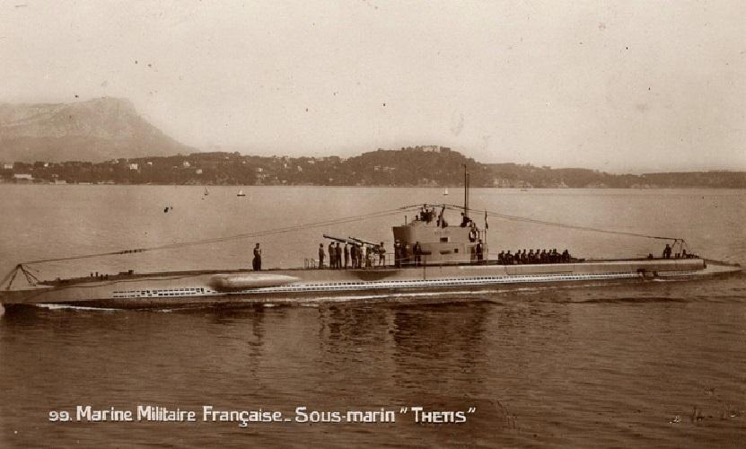 * THETIS (1929/1942) * Sous-m27