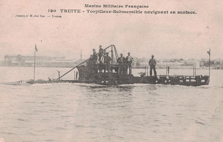 * TRUITE (1905/1914) * Sous-m33