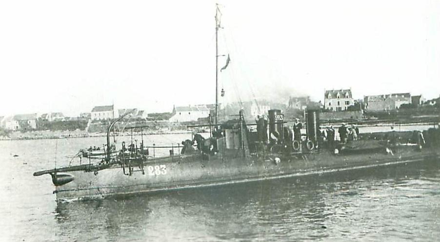 + TORPILLEUR 283 (1904/1920) + Torpi109