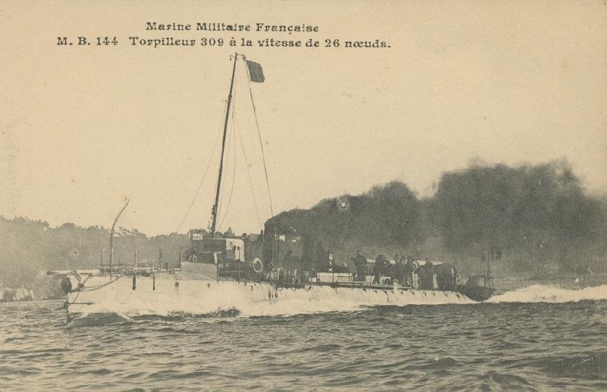 + TORPILLEUR 309 (1906/1920) + Torpi112