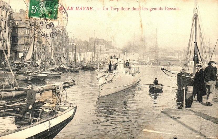 + TORPILLEUR 319 (1907/1915) + Torpi116