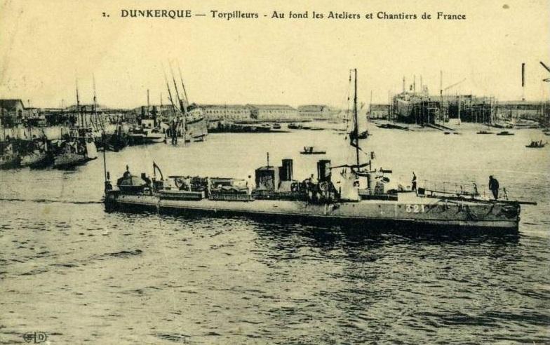 + TORPILLEUR 321 (1907/1936) + Torpi117