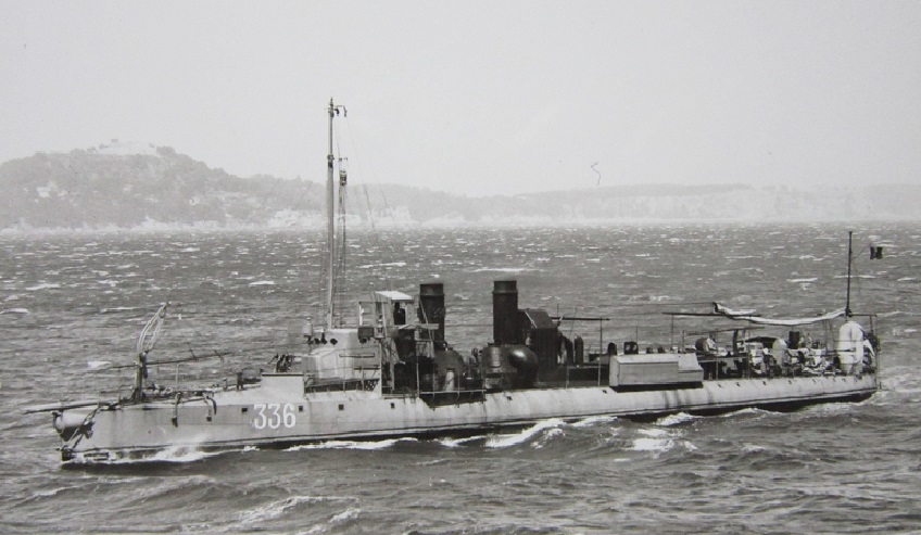 + TORPILLEUR 336 (1907/1931) + Torpi123