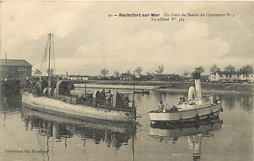 + TORPILLEUR 337 (1908/1931) + Torpi124