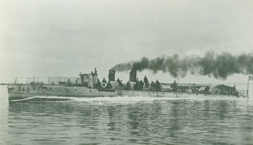 + TORPILLEUR 340 (1907/1920) + Torpi126