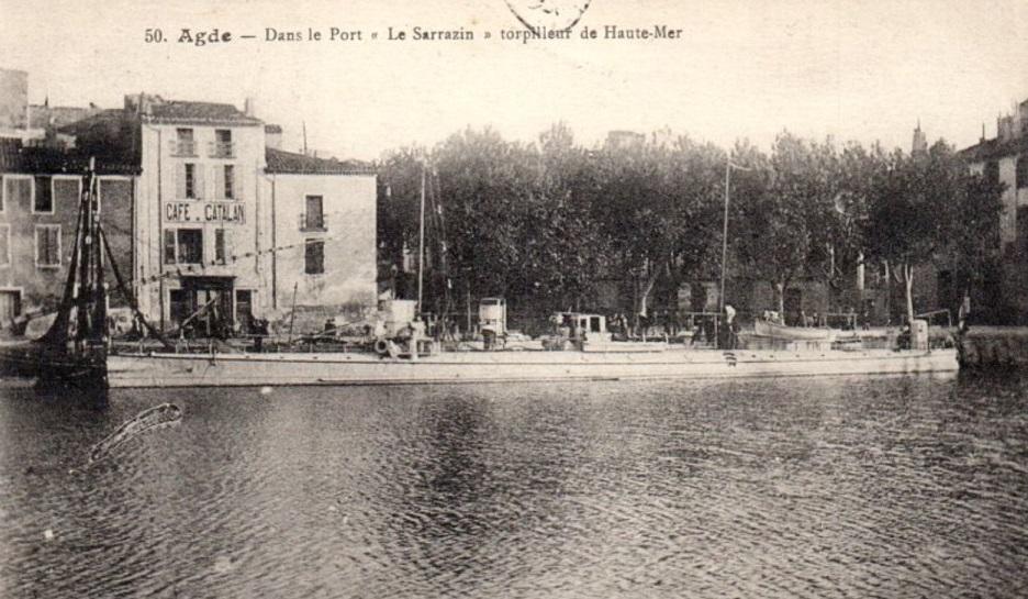 * SARRAZIN (1894/1908) * Torpil10