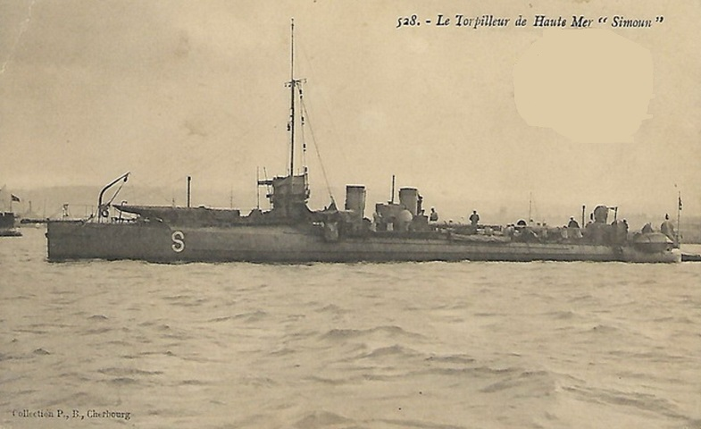 * SIMOUN (1901/1924) * Torpil13