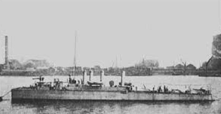 * SPHENDONI (1916/1917) * Torpil17