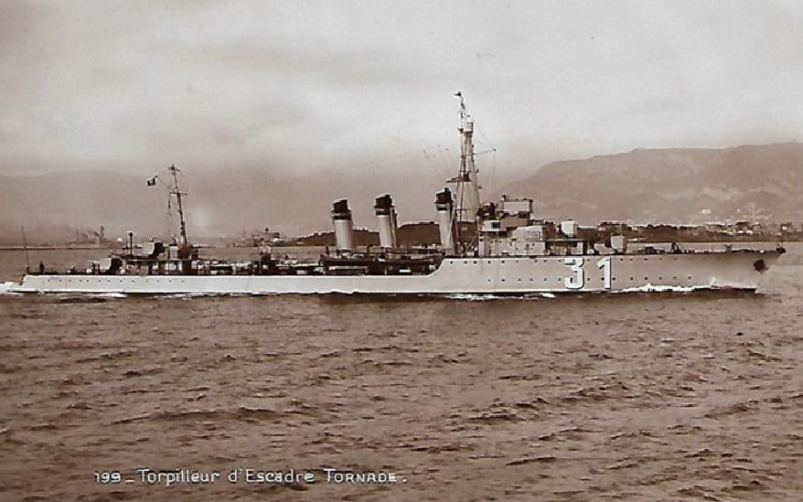 * TORNADE (1928/1942) * Torpil24
