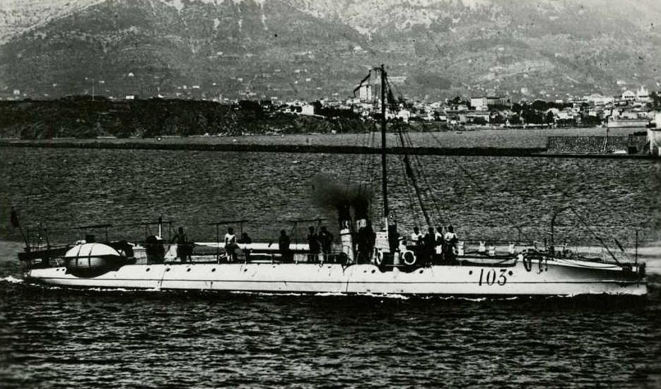 + TORPILLEUR 103 (1888/1908) + Torpil57