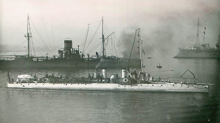 + TORPILLEUR 246 (1901/1911) + Torpil65