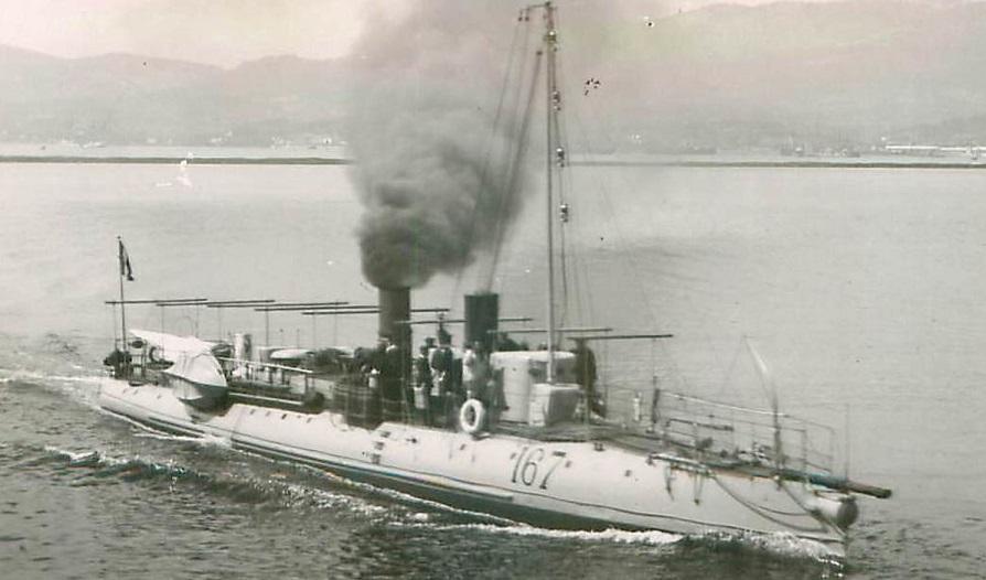 + TORPILLEUR 167 (1893/1909) + Torpil80