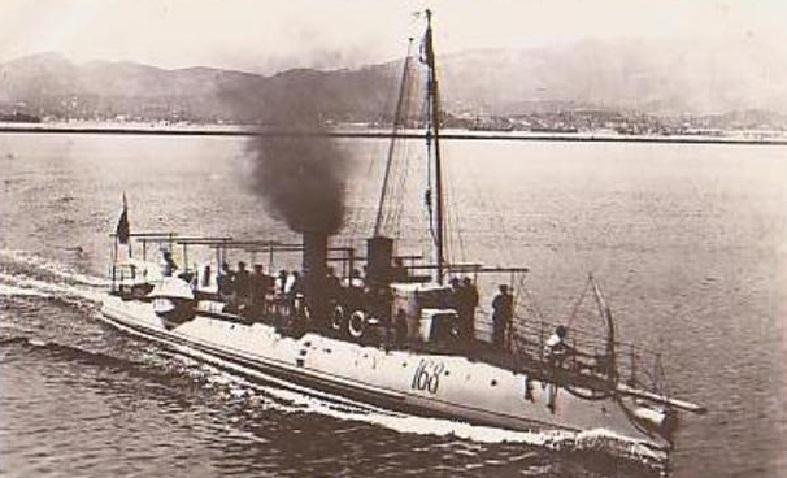 + TORPILLEUR 168 (1894/1909) + Torpil81
