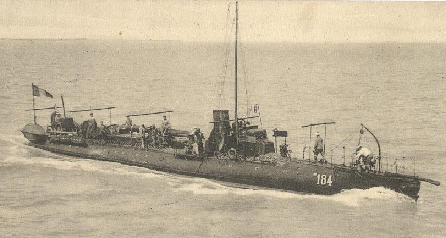 + TORPILLEUR 184 (1895/1914) + Torpil84