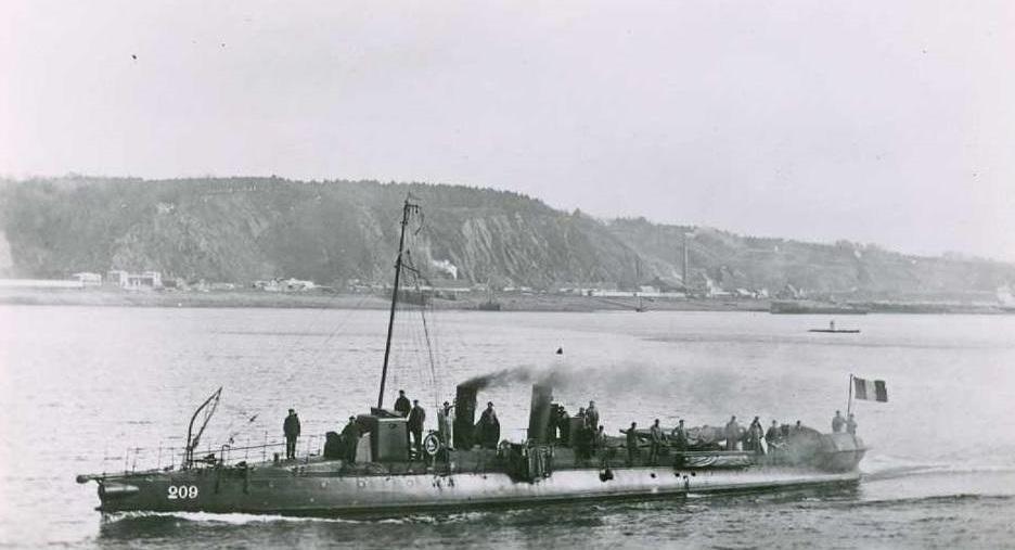 + TORPILLEUR 209 (1898/1911) + Torpil93