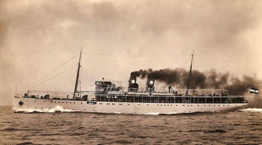 * VISEGRAD (1919/1920) * Vapeur10