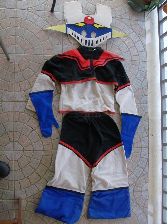 varietà di design vendite all'ingrosso una grande varietà di modelli Mazinga Z costume di Carnevale anni 70 80 loose per bambini