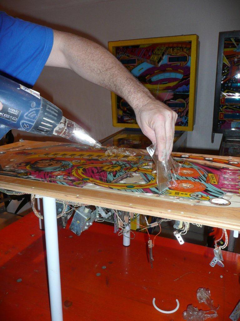 Restauration d'un Gottlieb Sinbad EM P1090311