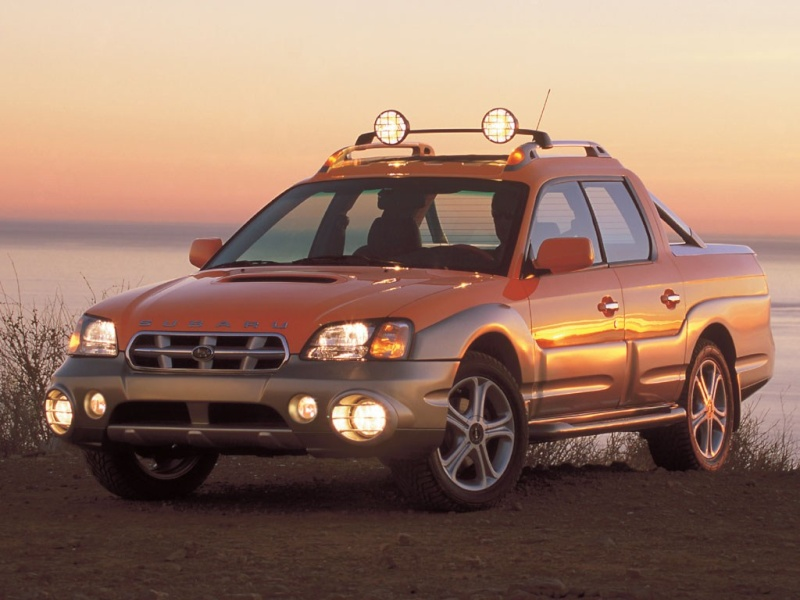 SUBARU BAJA Subaru16