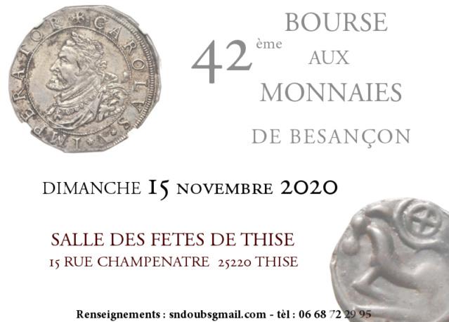 Bourse de Besançon - 15/11/2020 (remplace avril annulé)  Besan910