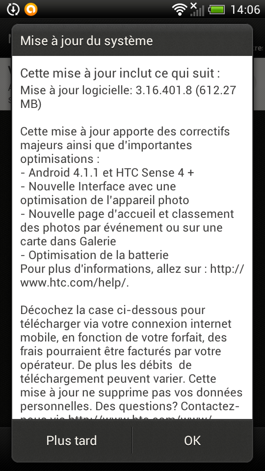 Mise à jour Jelly Bean officielle Dispo Screen11