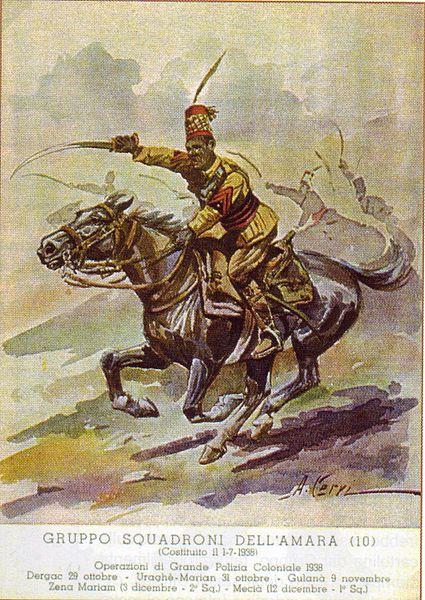 La charge de la cavalerie érythréenne 425px-10
