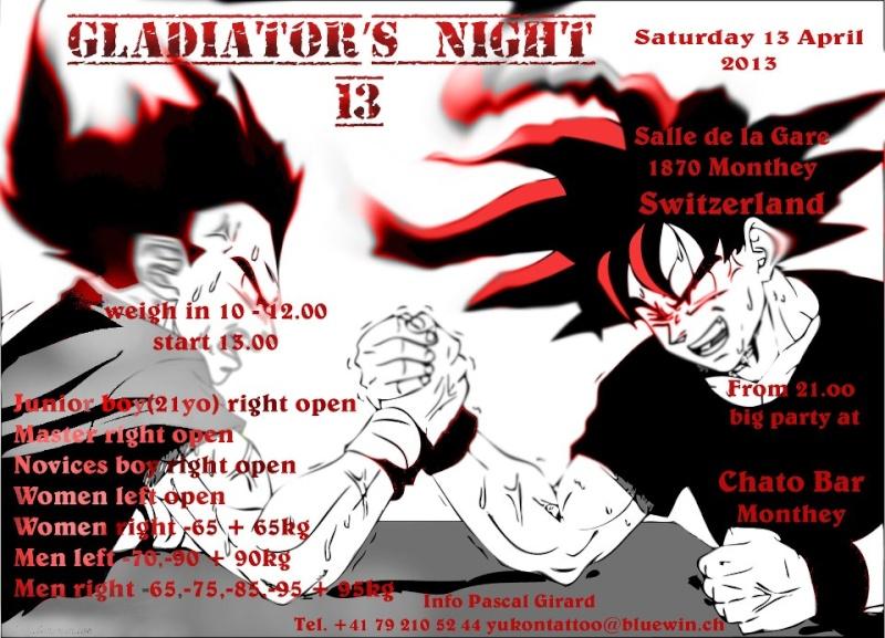 Pascal Girard = Gladiator's night XIII  Saturday, April 13, 2013 = Switzerland 59551_10