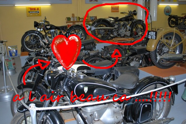 Quelques photos de motos du musée Baster à RIOM 20110910