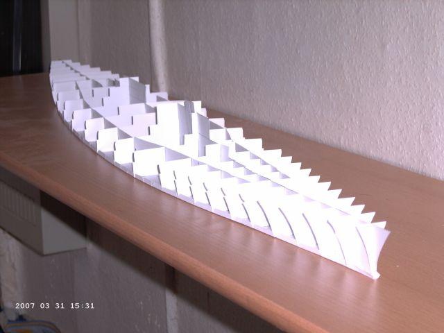 Baubericht Bismarck WHV 1/250 - Bericht von 2007 03_all10