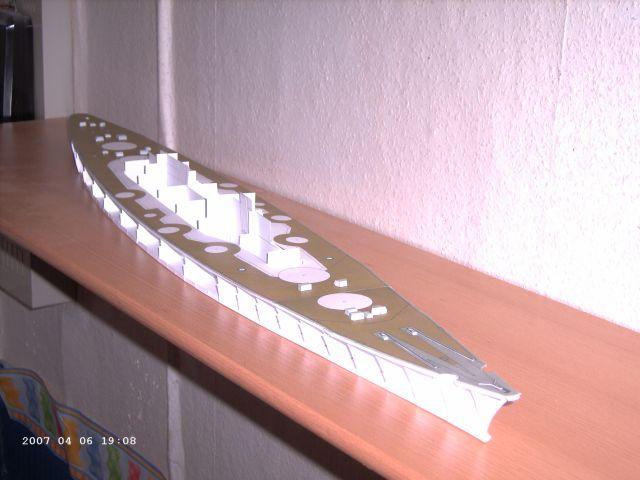 Baubericht Bismarck WHV 1/250 - Bericht von 2007 05_bis10