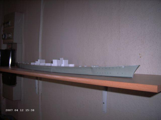 Baubericht Bismarck WHV 1/250 - Bericht von 2007 07_sei10