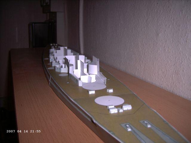 Baubericht Bismarck WHV 1/250 - Bericht von 2007 08_auf10