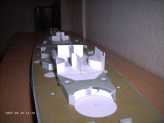 Baubericht Bismarck WHV 1/250 - Bericht von 2007 09_dec10