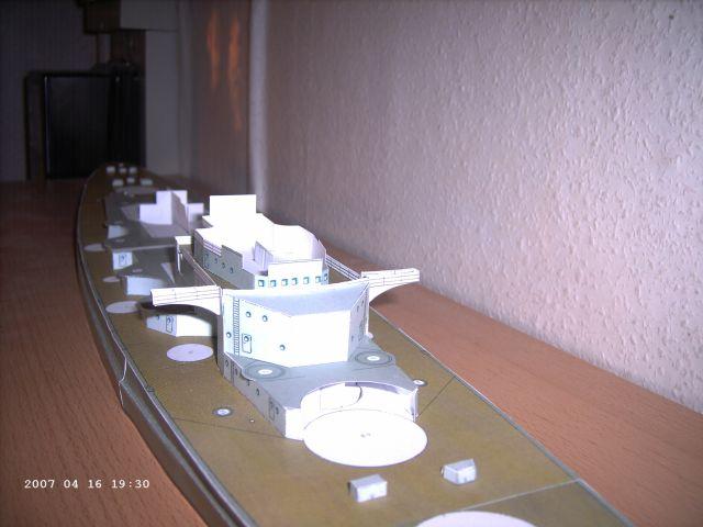 Baubericht Bismarck WHV 1/250 - Bericht von 2007 10_div10