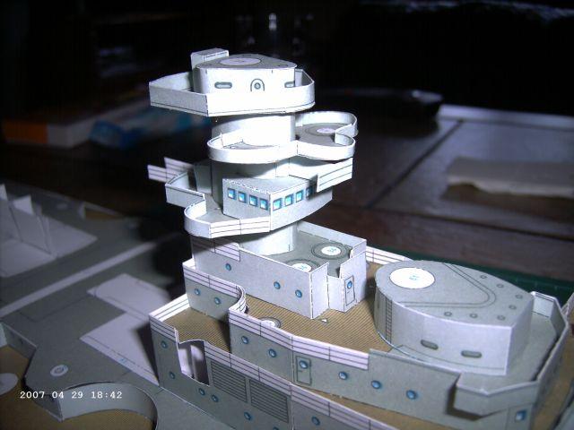 Baubericht Bismarck WHV 1/250 - Bericht von 2007 11_gef10