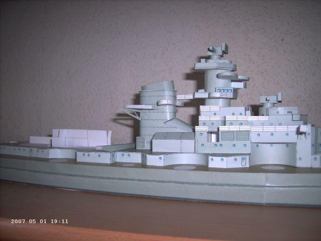 Baubericht Bismarck WHV 1/250 - Bericht von 2007 13_sch10