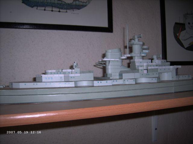 Baubericht Bismarck WHV 1/250 - Bericht von 2007 14_auf10