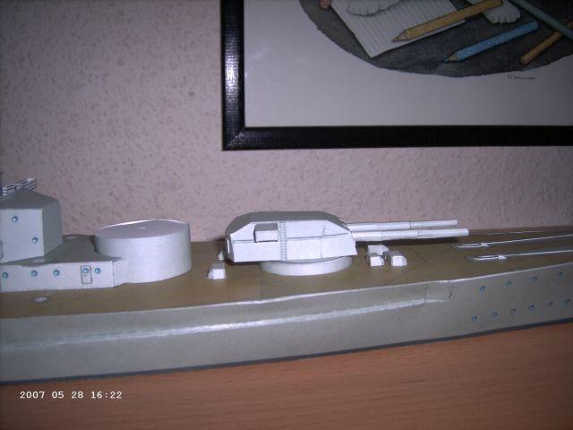 Baubericht Bismarck WHV 1/250 - Bericht von 2007 15_tur10