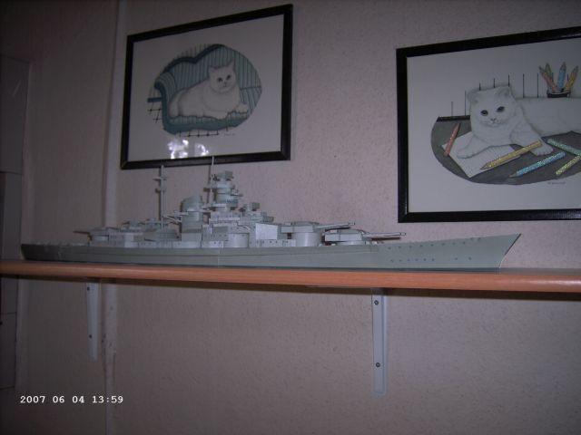 Baubericht Bismarck WHV 1/250 - Bericht von 2007 17_3_t10