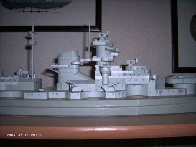 Baubericht Bismarck WHV 1/250 - Bericht von 2007 19_fla10